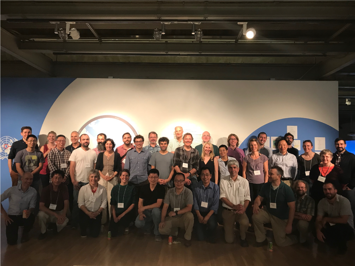 Group photo taken during ECCO Project Meeting 2018